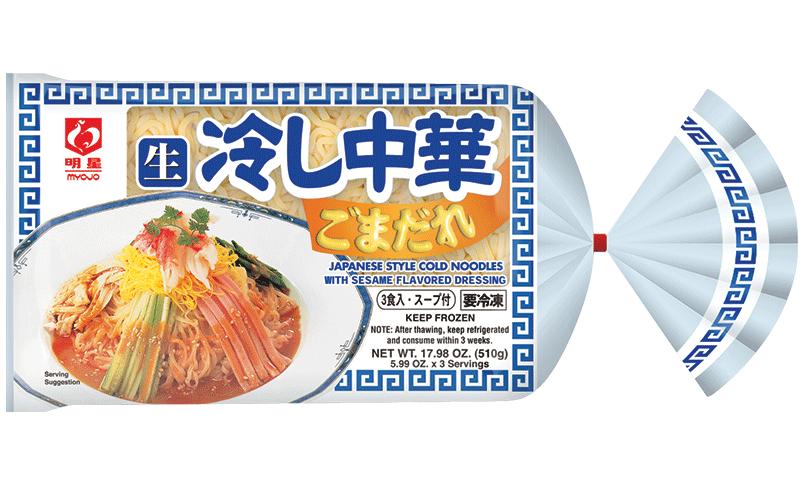 Sesame Hiyashi Chuka