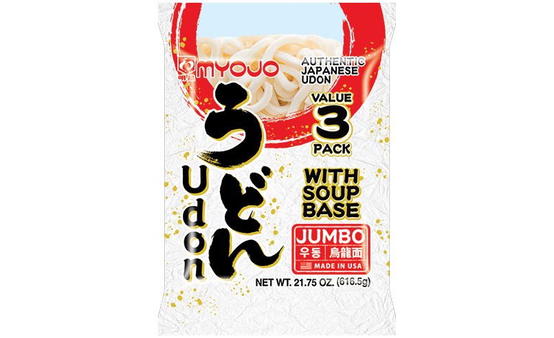Jumbo Udon with Soup