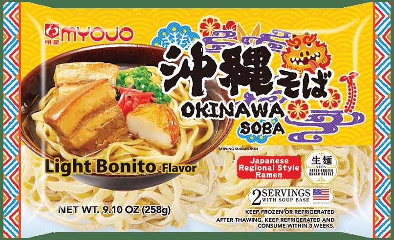 Okinawa Soba, 9.10oz (258g), 2 servings
