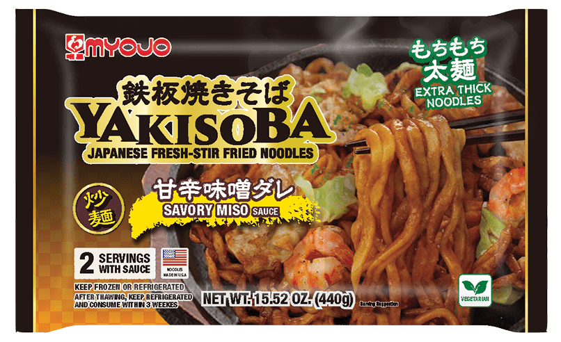 Premium Savory Miso Yakisoba, 15.52 oz (440g), 2 servings