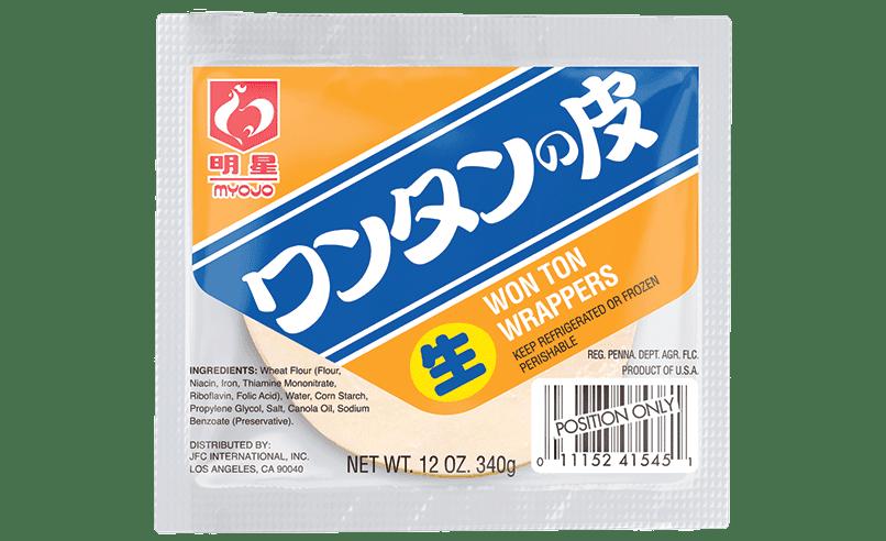 Wonton Wrapper, 12 oz (340g), 54 pieces