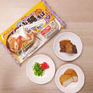 Ingredients of Okinawa Soba