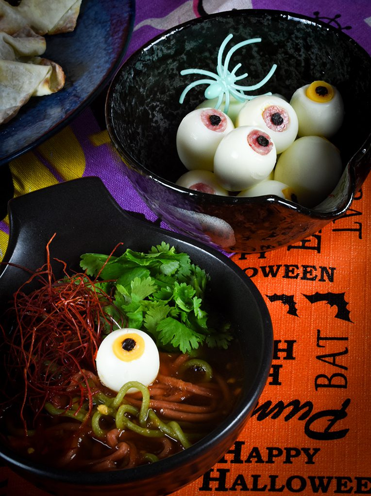 Halloween Special Eyeball Ramen
