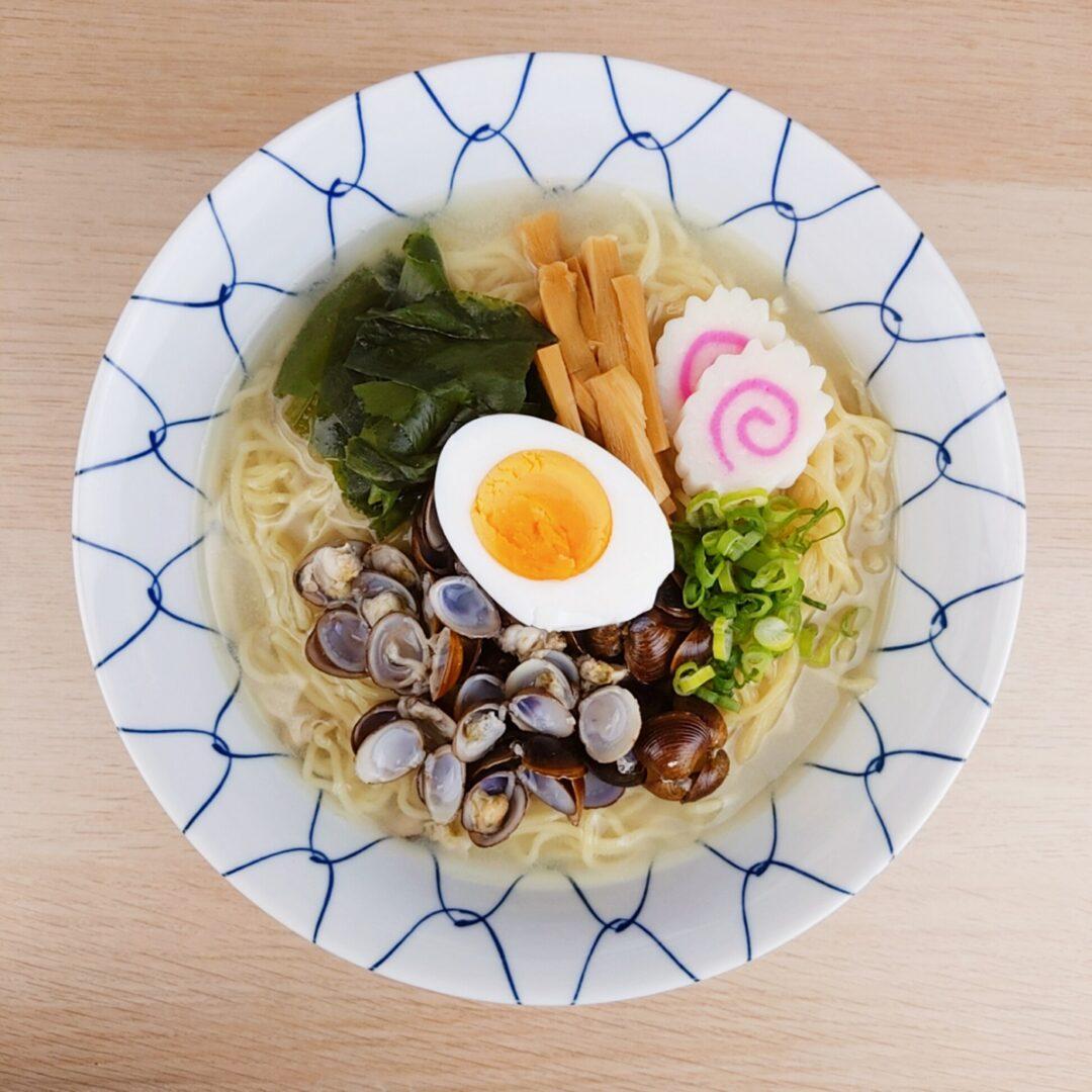 Myojo-Style Shijimi Clam Ramen