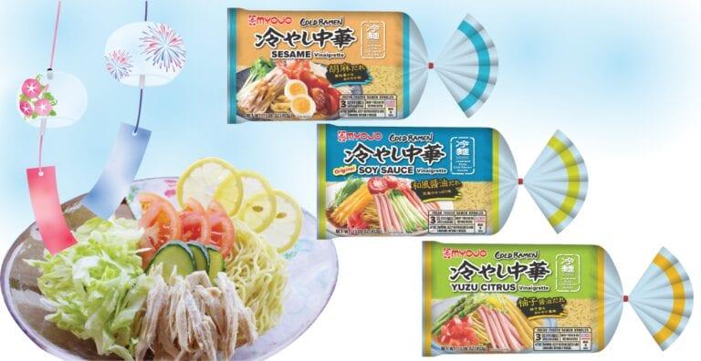 3 Kinds of Hiyashi Chuka - Sesame flavor, original soy sauce flavor, yuzu citrus flavor