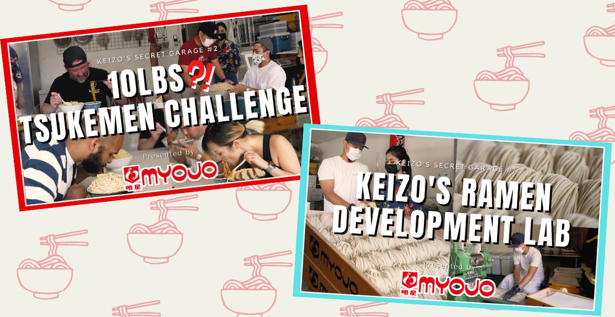 10LB Tsukemen Challenge & Keizo's Garage!