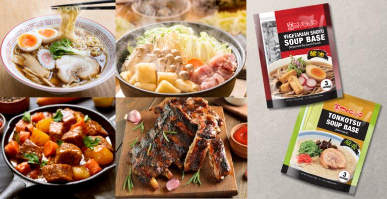 New Products - Vegetarian Shoyu Soup Base and Tonkotsu Soup Base